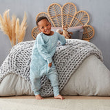 Winter sleep suit 2.5tog Pebble