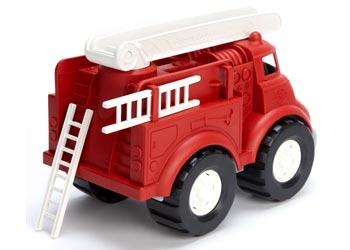 Fire Truck Green Toy
