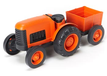 Tractor Green Toy