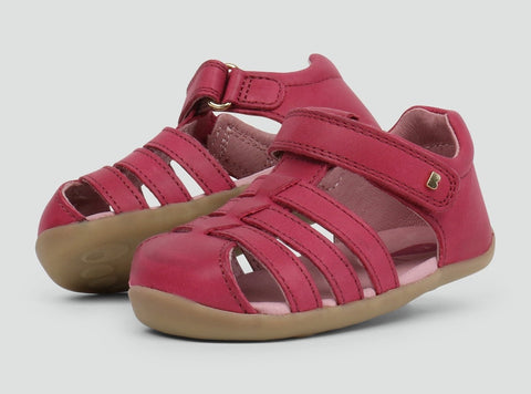 Jump Sandal dark pink step up