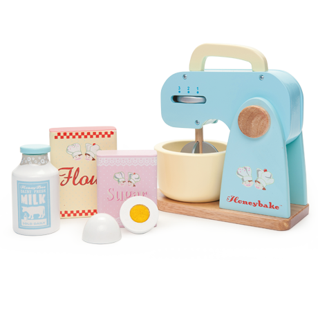 Honeybake Wooden Mixer Set