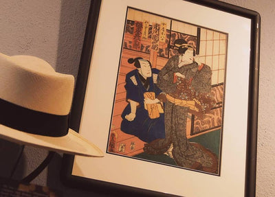 Japanese textile patterns through the art of Ukiyo-e