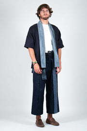 Japanese Cotton and Vintage Yukata Trousers