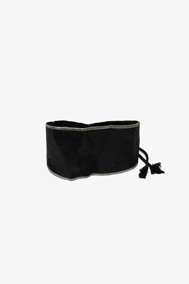 Silk Reversible Belt with Cords