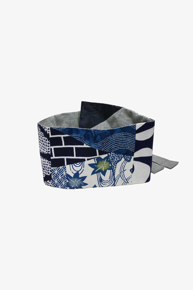 Yukata Cotton Reversible Belt with Twelve Different Patterns