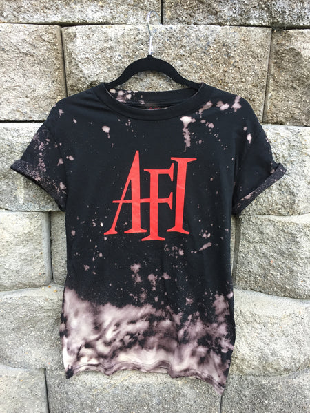 AFI Ombre Bleached Tee