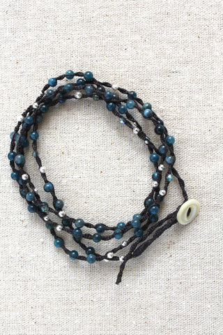Tied to the Sea Deep Sea Wrap Bracelet
