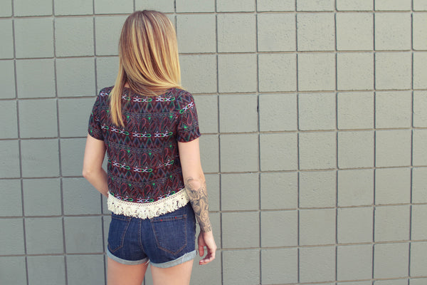 Hitchhiker Fringe Top