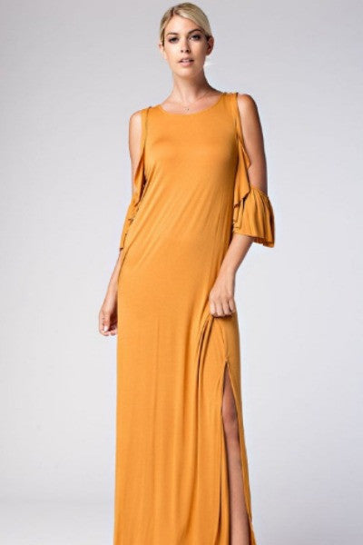 Gracie Flutter Maxi Dress