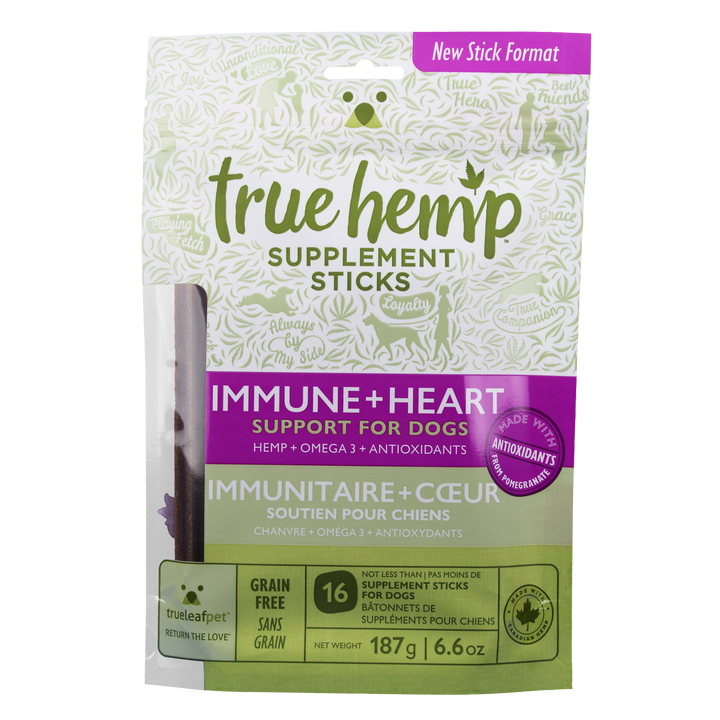 True Hemp™ Sticks ♦ IMMUNE+HEART