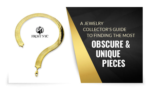A Jewelry Collector's Guide to Finding the Most Obscure & Unique Pieces