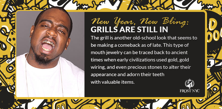 Grills are still in