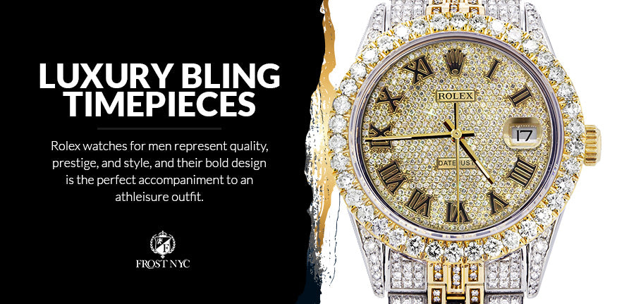 luxury bling timepieces