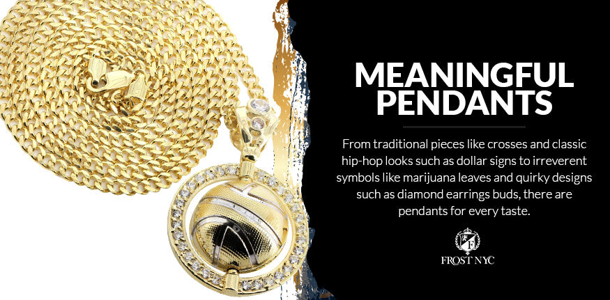 meaningful pendants for chains