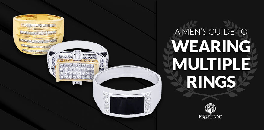 A Men's Guide to Wearing Multiple Rings