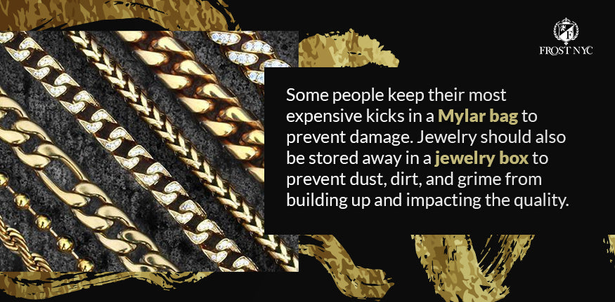 Protect jewelry and shoes
