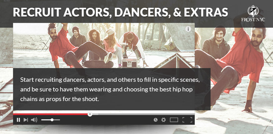 Recruit Actors, Dancers, and Extras