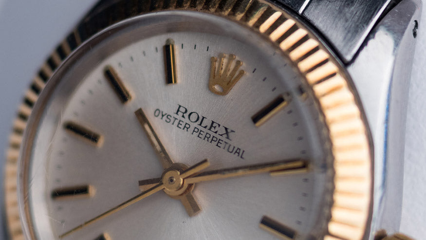 Rolex Oyster Perpetual vintage woman watch