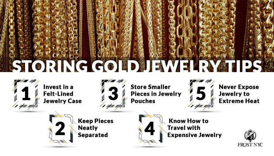 Storing Gold Jewelry Tips
