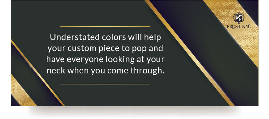 Understated Colors quote