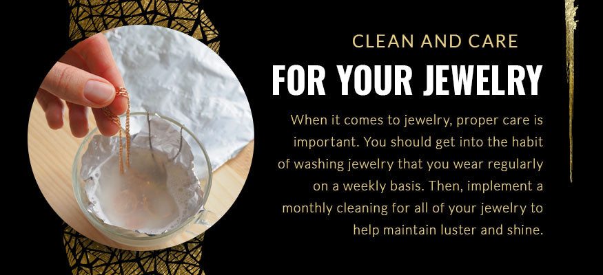 clean and care for jewelry quote