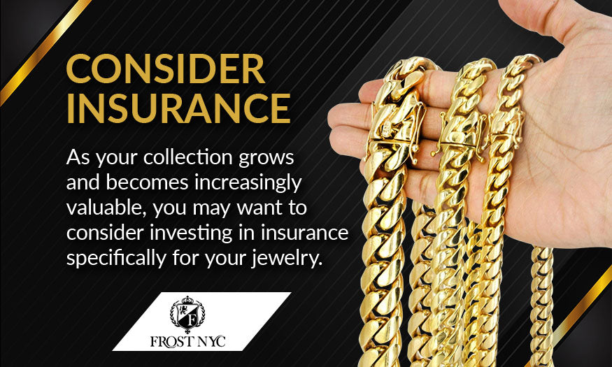 consider insurance for jewelry