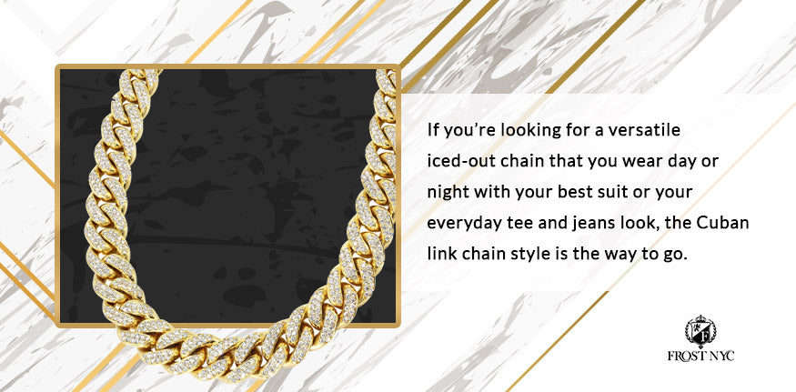 cuban link chain graphic