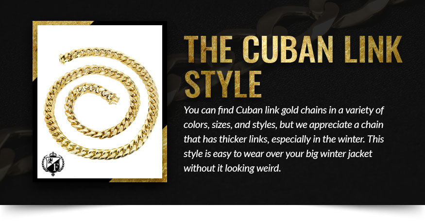 The Cuban Link Style