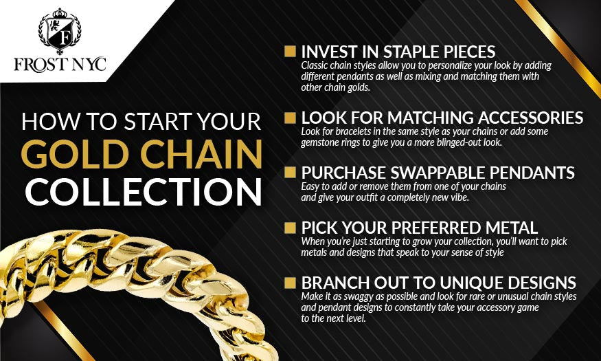 how to start gold chain collection graphic