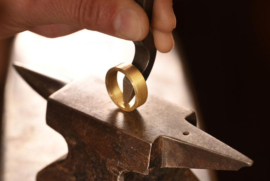 jewelry crafting gold ring