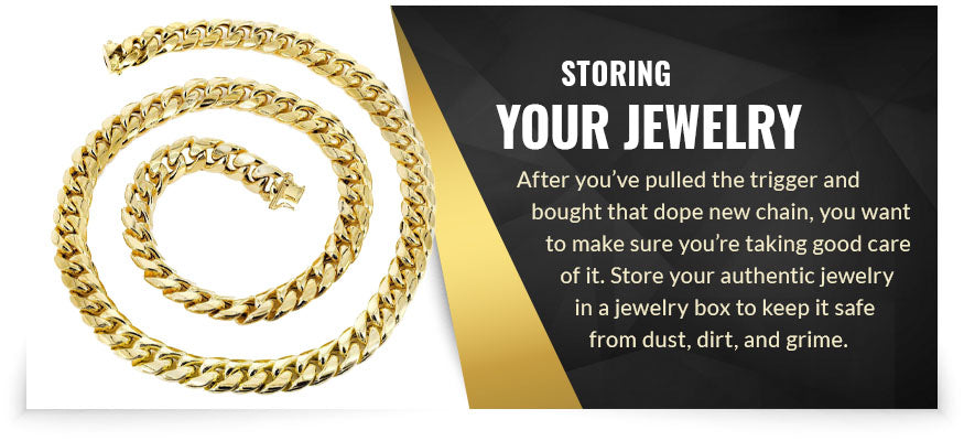storing your jewelry graphic