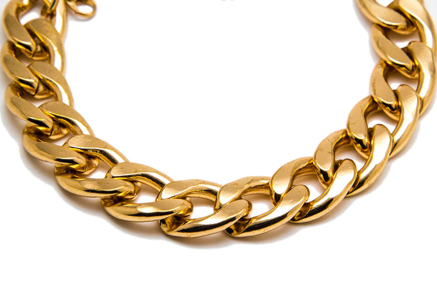 thick gold chain