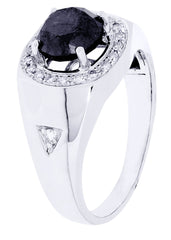 Mens Diamond Ring| 2.8 Carats| 6.76 Grams