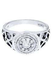 Mens Diamond Ring| 0.53 Carats| 6.28 Grams