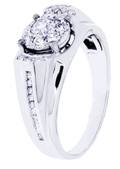 Mens Diamond Ring| 0.81 Carats| 6.21 Grams