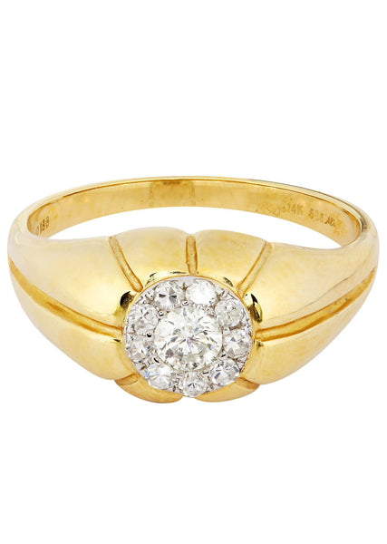 Mens Diamond Ring| 0.49 Carats| 4.87 Grams