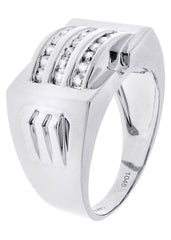 Mens Diamond Ring| 0.51 Carats| 11.07 Grams