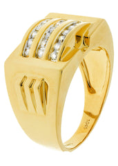 Mens Diamond Ring| 0.5 Carats| 10.79 Grams