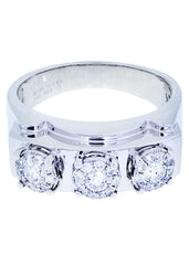 Mens Diamond Ring| 0.69 Carats| 10.5 Grams