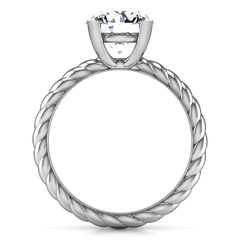 Round Diamond Solitaire Engagement Ring Ellery 14K White Gold engagement rings imaginediamonds