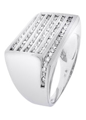 Mens Diamond Ring| 0.94 Carats| 10.45 Grams