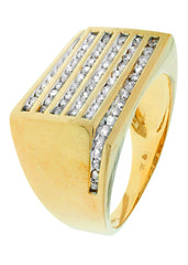 Mens Diamond Pinky Ring| 0.96 Carats| 9.97 Grams MEN'S RINGS FROST NYC