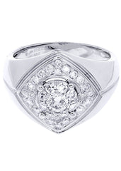 Mens Diamond Ring| 1.05 Carats| 9.04 Grams