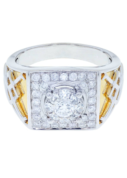 Mens Diamond Ring| 0.92 Carats| 10.56 Grams