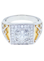 Mens Diamond Ring| 0.92 Carats| 10.56 Grams MEN'S RINGS FROST NYC