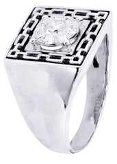 Mens Diamond Ring| 0.52 Carats| 9.54 Grams MEN'S RINGS FROST NYC