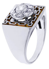 Mens Diamond Ring| 1.17 Carats| 8.24 Grams