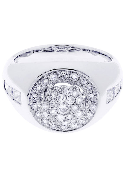 Mens Diamond Ring| 0.84 Carats| 10.62 Grams