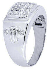 Mens Diamond Ring| 0.54 Carats| 8.94 Grams