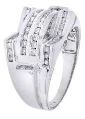 Mens Diamond Ring| 0.86 Carats| 11.02 Grams
